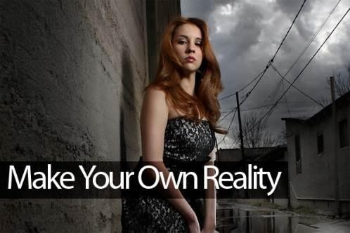 kreiraj svoju stvarnost
