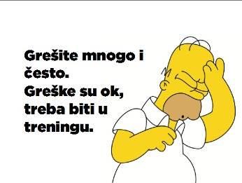 greske i uspeh